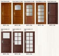 Dýhované interiérové dveře Porta Madrid/Cordoba - www.plancher.cz