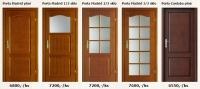 Dýhované interiérové dveře Porta