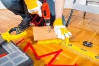 Pokládka dřevěné podlahové krytiny
