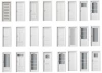 Bílé interiérové dveře Porta Doors