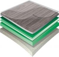 PVC podlahy s textilní podložkou Gerflor HQR