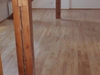 Dřevěná třívrstvá plovoucí podlaha Befag - reference 82