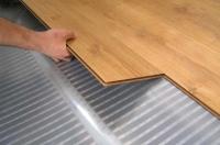 Instalace plovoucí podlahy na betonový podklad