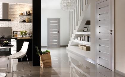 Bílé interiérové dveře Porta Doors Concept