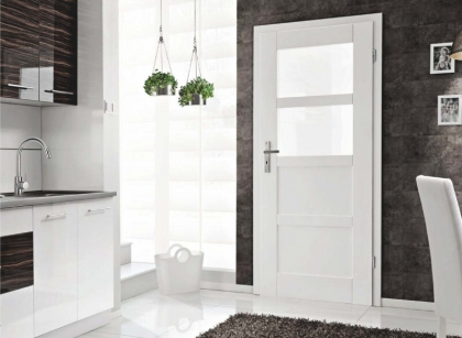 Bílé interiérové dveře Vasco Doors Porto