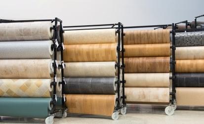 Flooring - vinyl - rolls - 9