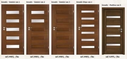 Fóliované interiérové dveře