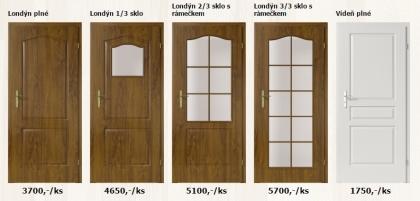Laminátové interiérové dveře Porta