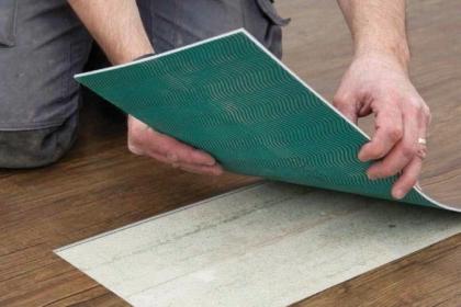 Oprava vinylové podlahy
