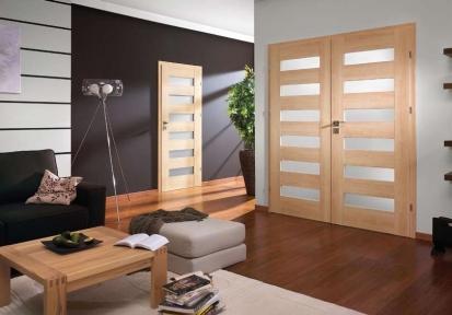 Naše nabídka dvoukřídlých interiérových dveří