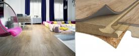 Plovoucí podlahy - druhy, značky a jejich hlavní výhody