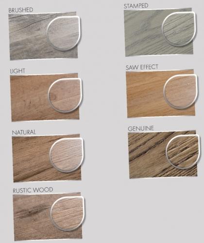 Vinylové podlahy Gerflor Creation - struktury povrchu