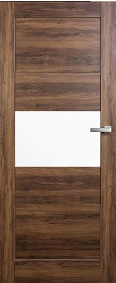 Interiérové dveře Vasco Doors Teo ve fólii - zárubeň a klika zdarma