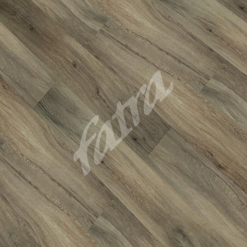 Zámková vinylová podlaha Fatraclick Dub cer hnědý 7301-5