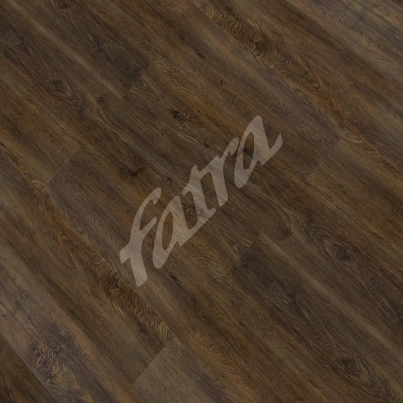 Zámková vinylová podlaha Fatraclick Dub černý 8058-6