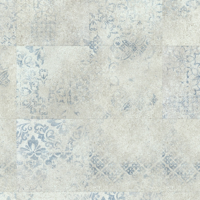 Expona Domestic P11 5869 Blue Stencil Concrete