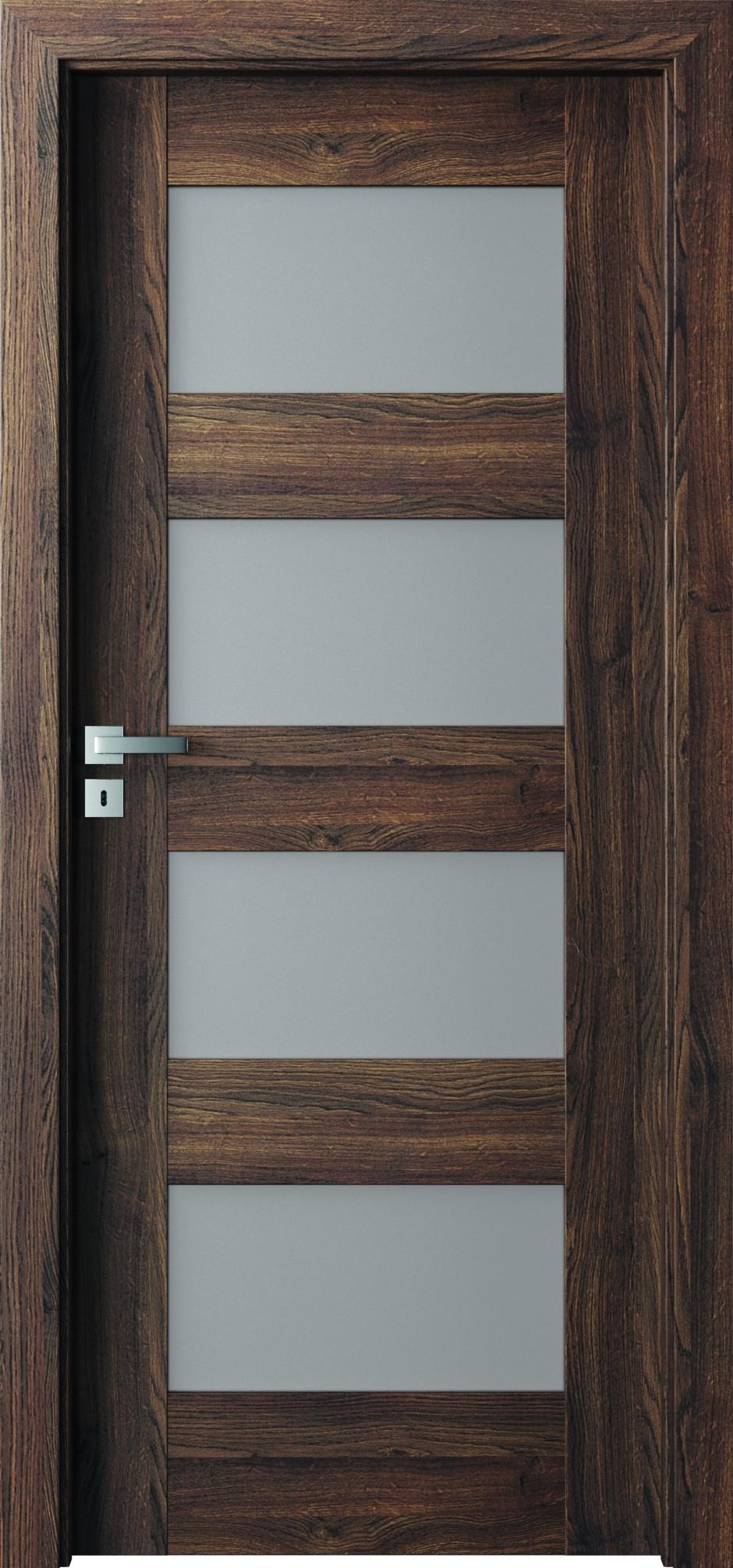 Interiérové dveře Verte Premium A - Dekor Portaperfect 3D