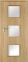 Interiérové dveře Invado Roma ve fólii + zárubeň
