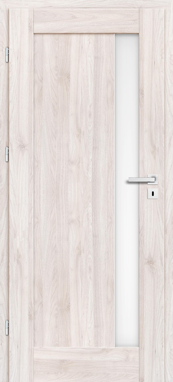 Interiérové dveře Erkado Frézie ve fólii - s obkladem kovové zárubně a klika zdarma