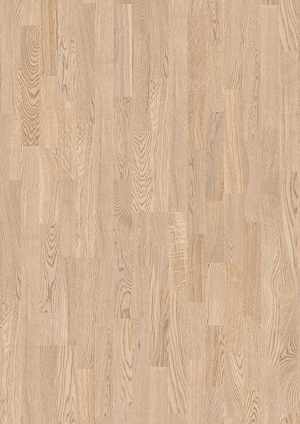 Dřevěná plovoucí podlaha Boen Dub BLUES bílý 3-vrstvá podlaha