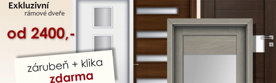 Interierové dveře Invado, Verte, Porta Doors a Erkado se zaoblenými hranami za hubičku!!