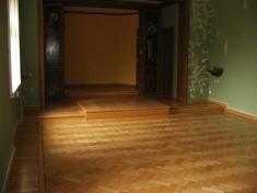 Renovace parket v modlitební místnosti