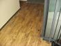 Pokládka schodiště PVC podlahou Holmes Place.